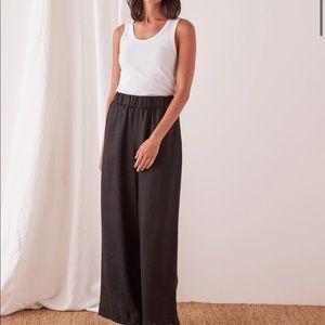 NWT never worn Black linen pant